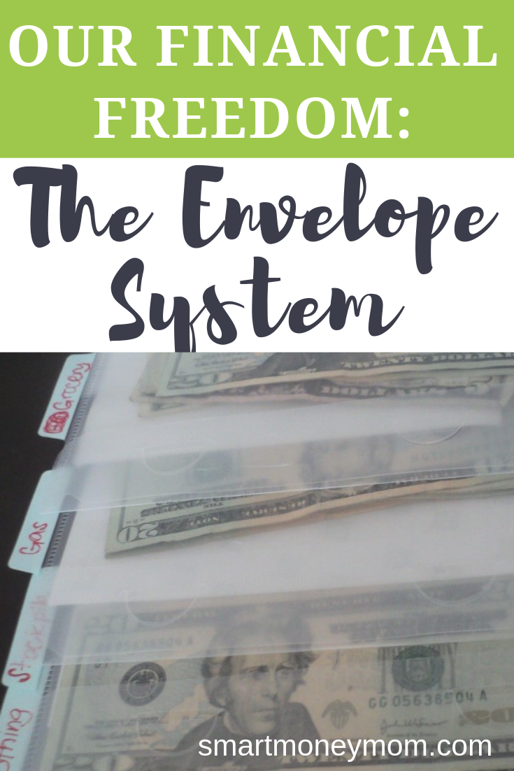 Our Financial Freedom: The Envelope System. I discovered this system that got our spending together called the #EnvelopeSystem , this helps us see the actual cash and keeps us from over spending. Basically it works like this: Total up your monthly income. #frugallivingideas #frugallivingtips #frugalliving #savingmoneytips #savingmoney