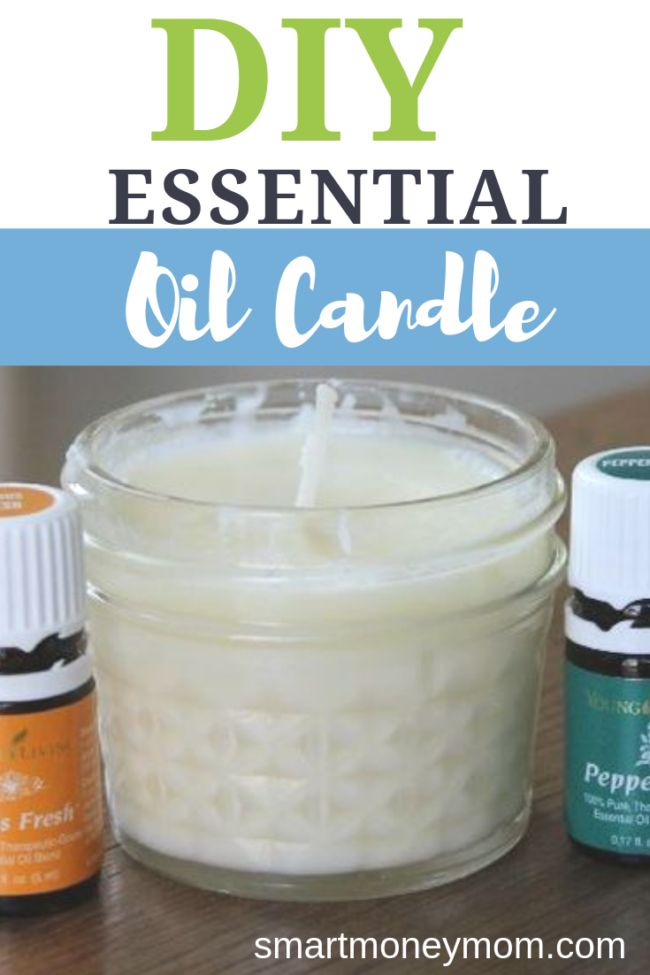 DIY Essential Oil Candle. Ever since I got my Essential Oil Starter kit-- I've been making ALL sorts of natural items... and it is really exciting! Check out this very easy #DIY on how to make an essential #OilCandle