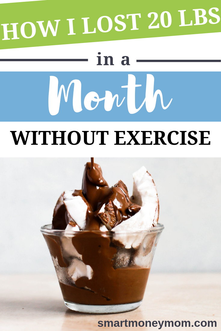 Yes, I Lost 20 lbs In a Month and WITHOUT Exercise! find out how I did this! #fitness #Loseweight #tips