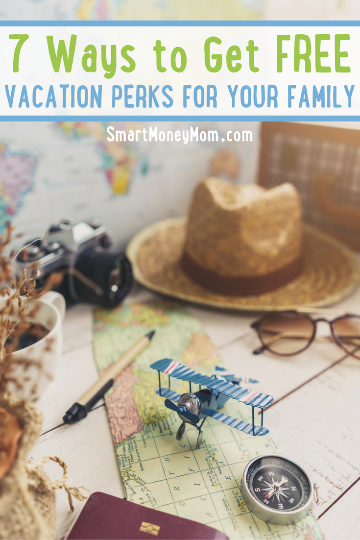 Learn 7 Ways to Get Free Vacation Perks for Your Family