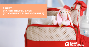 6 Best Diaper Travel Bags (Convenient & Fashionable)