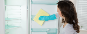 Clean & Sanitize Your Refrigerator With Ease