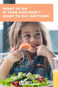 What to do if your kids don't want to eat anything