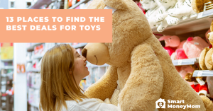 13 Places to Find the Best Deals for Toys