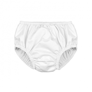 i play. reusable baby swim absorbent pull diaper in white color
