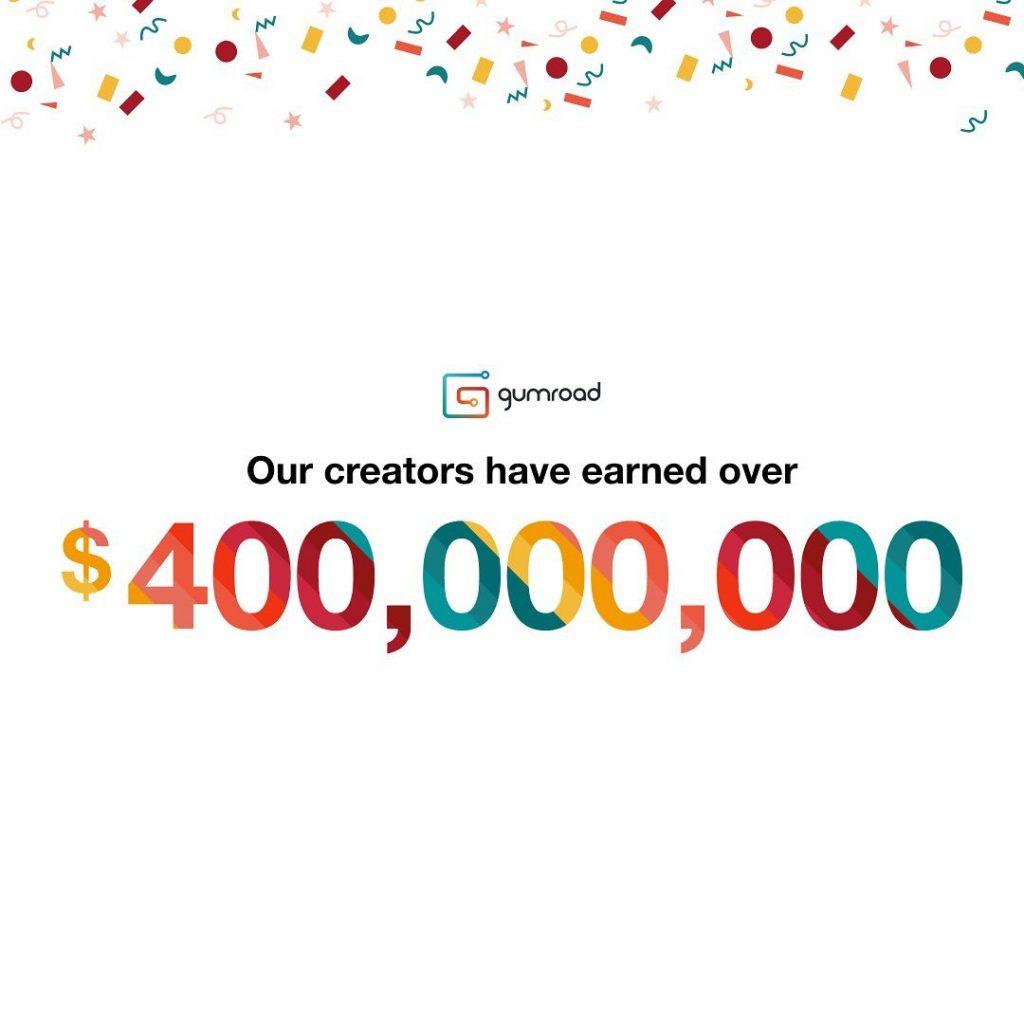 gumroad creators earnings