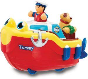 tug boat bath toy
